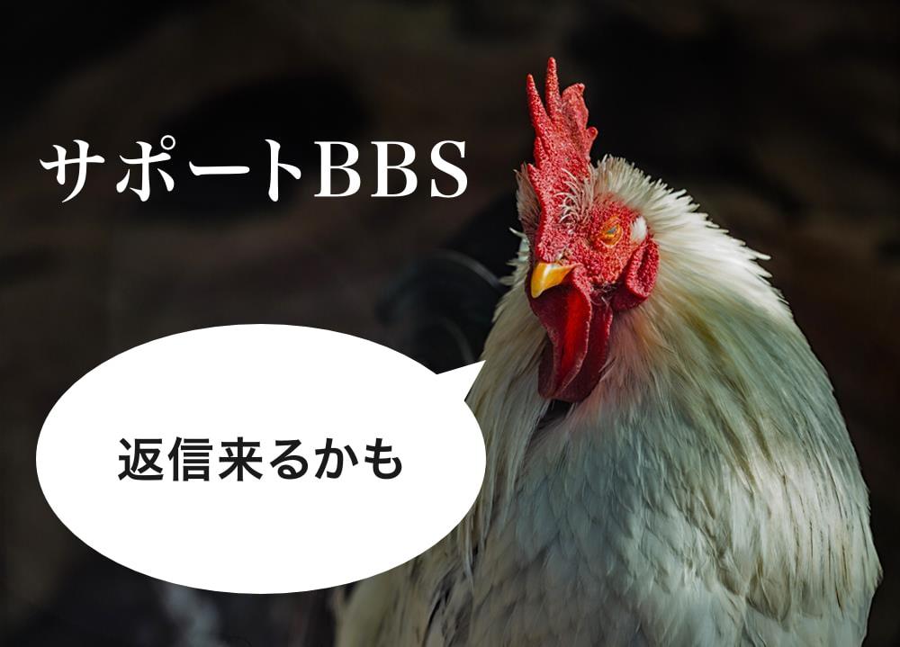 サポートBBS